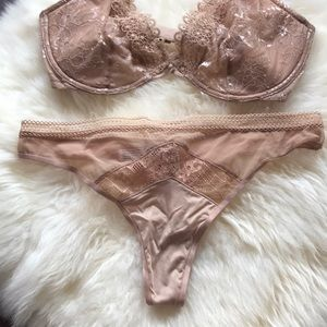 Victoria's Secret Intimates & Sleepwear - NWT Victoria's Secret unlined bra thong panty set